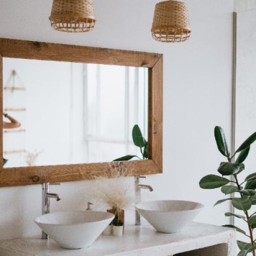 Création d'une salle de bain de 14m² avec pose de carrelage